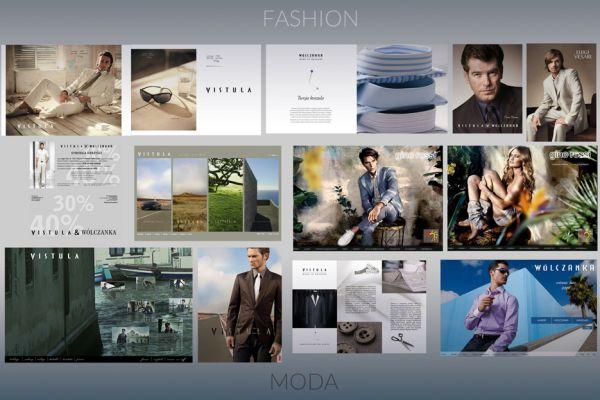 Kreatywna Reklama: Moda - Creative Advertising: Fashion
