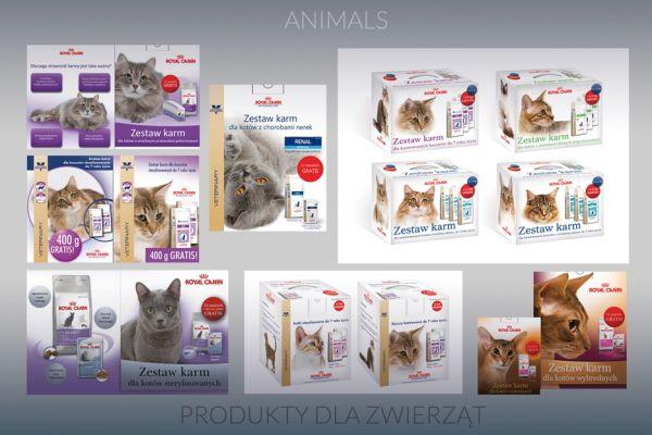 Kreatywna Reklama: Produkty dla Zwierząt - Creative Advertising: Animals